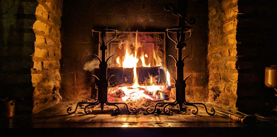 How To Clean A Metal Or Stone Fireplace Surround